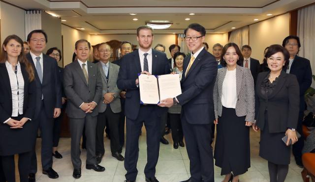 匈牙利政府委任柳权夏为驻韩名誉领事