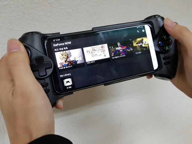 [사용기] 지포스 나우 게임패드와 찰떡궁합… 스팀 스마트폰으로 즐긴다