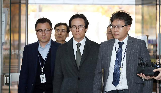 MB 사위 조현범 한국타이어 대표 구속 후 첫 소환조사