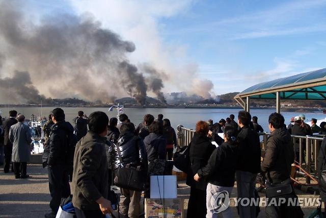 """軍, 뒤늦은 """"합의 위반""""... 北해안포 대응태세도 전무"""
