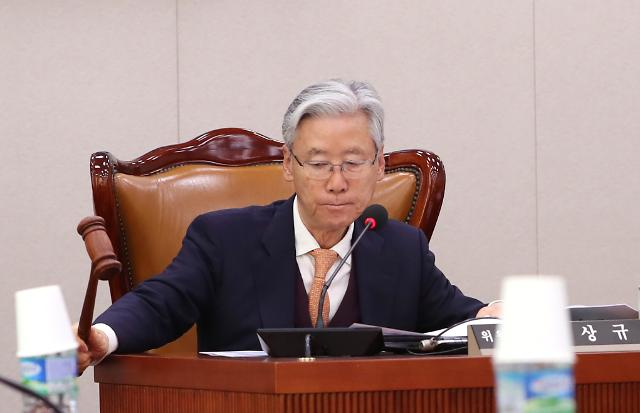 """여상규, 선거법 부의 연기 요청…""""법적 다툼·효력 상실 우려"""""""