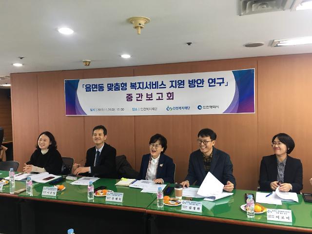 인천복지재단,생존권과 주거권으로 본 읍면동 맞춤형 복지서비스 지원 방안 연구 중간보고회 개최
