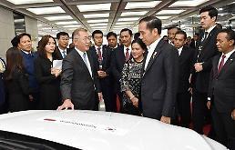 .现代汽车与印尼政府签署投资建厂协议.