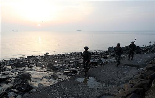 연평도 이북(以北) 섬 지역서 폭음 발생