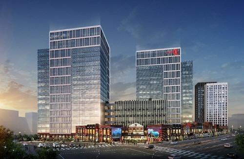 복합 지식산업센터 내 상업시설 현대 실리콘앨리 스퀘어 동탄 분양