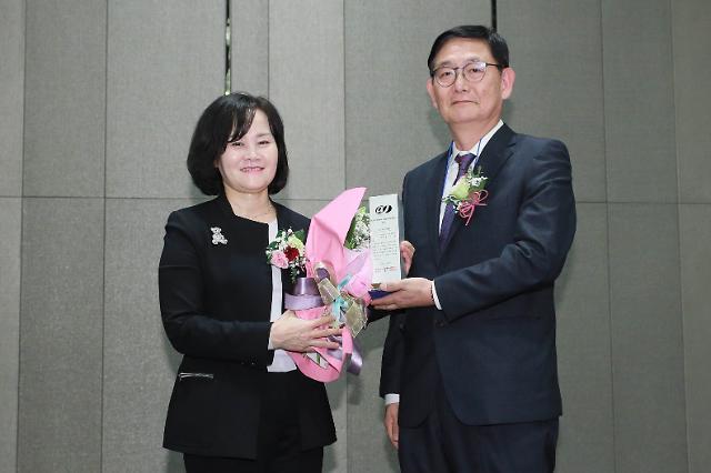 [2019 글로벌 여성리더십] 윤미옥 지아이이앤에스 대표, 우수여성기업에 선정
