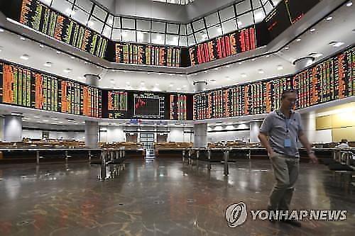 [아시아증시 마감]미중 무역협상 타결에 '홍콩 변수'…中·日 일제히 하락