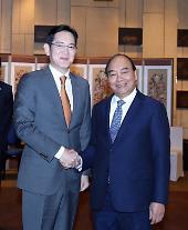李在鎔、ベトナム首相と個別面談・・・研究開発センターなど投資議論