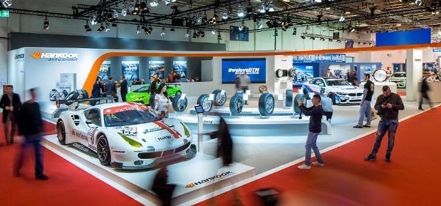 한국타이어, 2019 에센 모터쇼에서 초고성능 타이어 전시