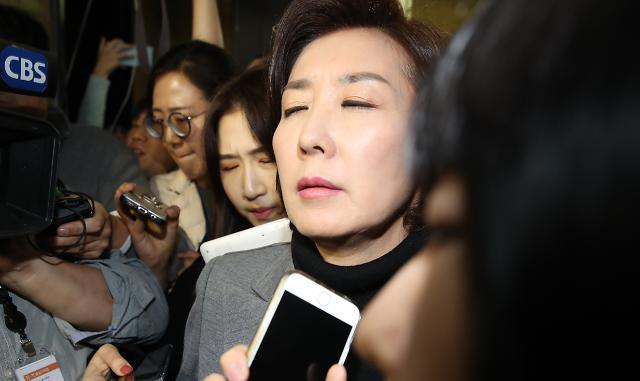 """나경원 """"말은 바로하자…민식이법 막은 것은 민주당"""""""