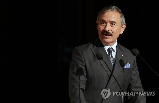 北 메아리 해리스 美대사 식민지 총독 행세 비난