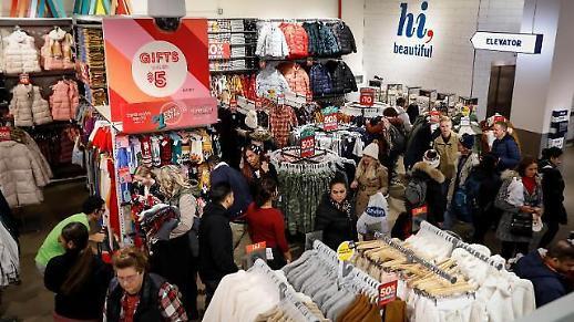 """美国年末购物季正式开幕,""""点击13万亿韩元""""历史最大规模"""