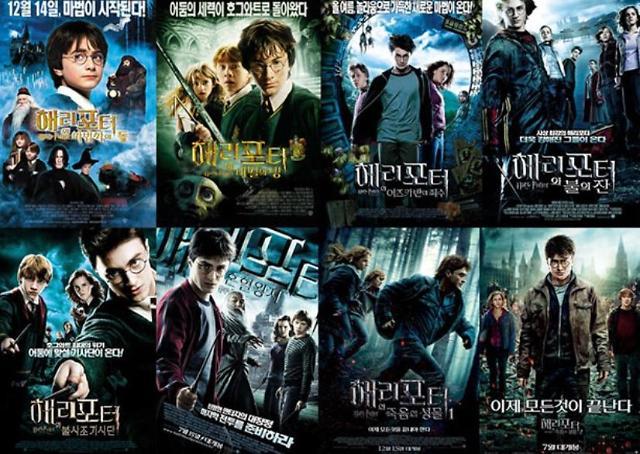 캐치온, VOD 최초 해리포터 시리즈 전편 공개