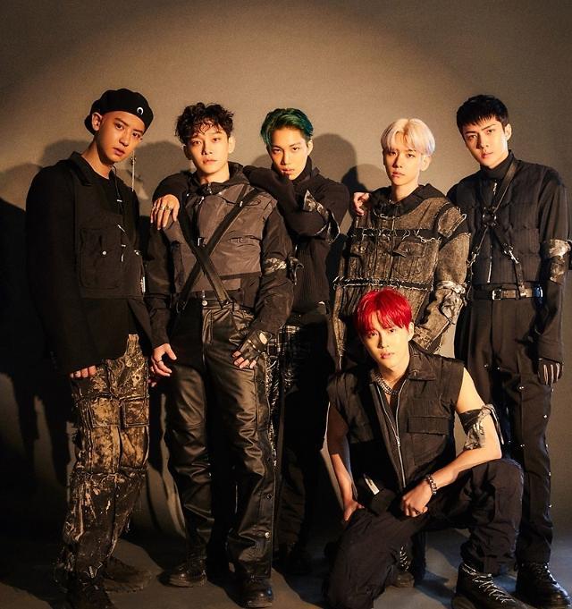 EXO新专辑横扫韩国各大音源网站周榜