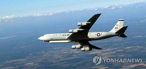 美E-8C 지상감시기 또 출동... 北미사일기지 동향 파악 분석