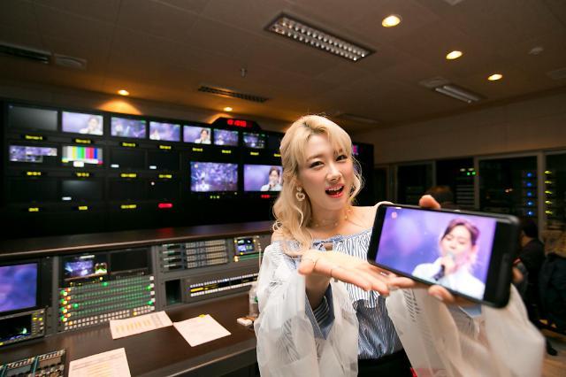 KT, 한국과 홍콩서 K-POP 아이돌 무대 5G로 동시 생중계