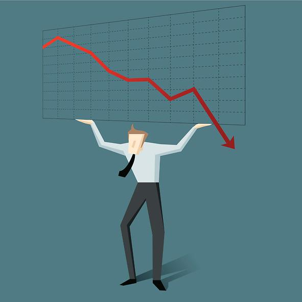 기업 절반 이상 신용등급 뚝... 내년 등급하향 기조 불가피