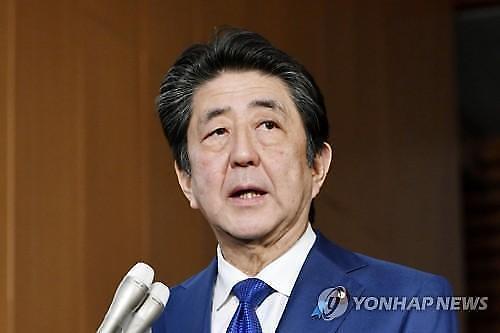 """日本安倍""""本月末将在中国协调韩日首脑会谈"""""""