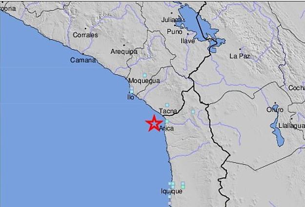 칠레 북부해안서 규모 6.0 강진 발생
