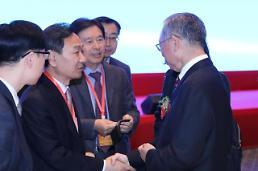 .山东省委书记率团访韩 韩政府高层接连接见.