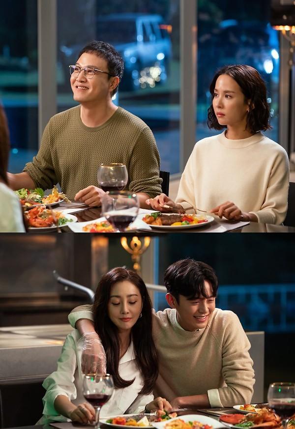 [오늘밤 채널고정] 99억의 여자 조여정·정웅인·오나라·이지훈, 테이블 위 동상이몽