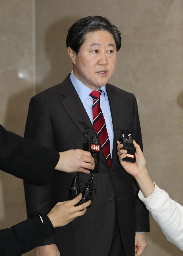한국당 차기 원내대표 3파전 양상…강석호·유기준·심재철
