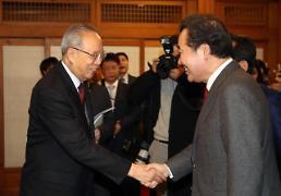 .韩国总理李洛渊接见中国企业家代表团.