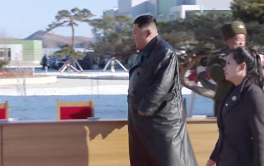 [포토] 김정은 밀착수행하는 현송월