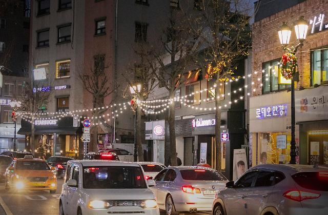 서울 서래마을 프랑스풍 디자인 거리로 탈바꿈