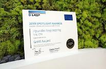 現代エンジニアリング、持続可能な経営報告書「金賞」