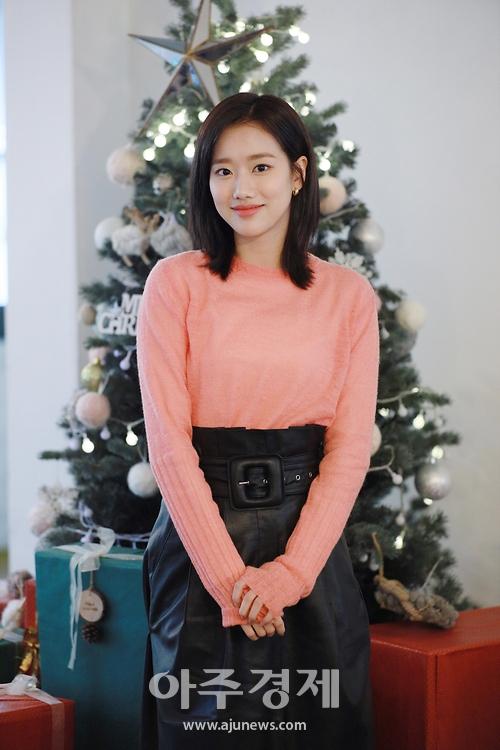 이나은, '청순미 넘치는 미소' (어쩌다 발견한 하루 종방 인터뷰)