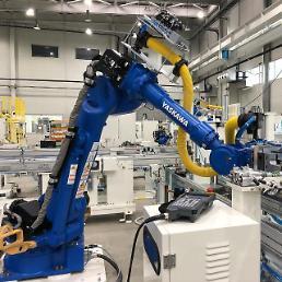 .报告:韩国2018年工业机器人安装量同比下降5% 排全球第四 .