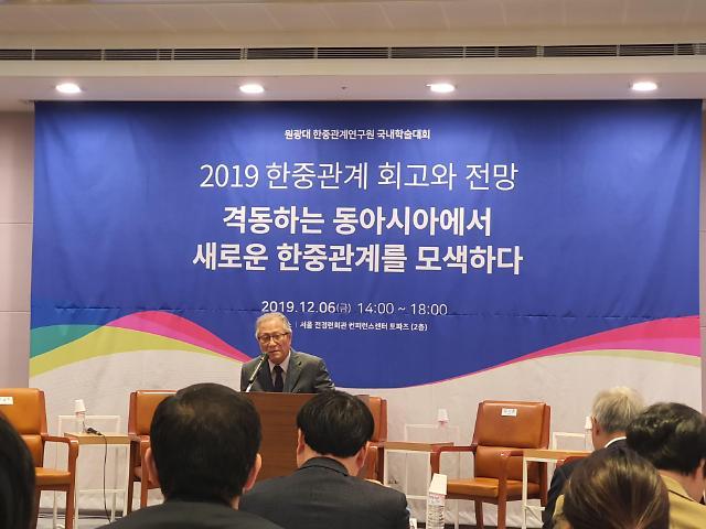 """정세현 """"한·미·일 동맹체제로 중국 견제해야"""""""