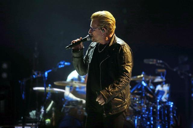 文总统9日与摇滚乐队U2 主唱会面 关注韩半岛和平问题