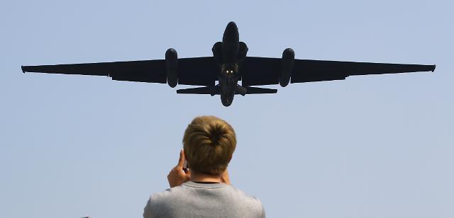 美정찰기, 이번엔 동해 상공 비행...대북 감시 강화
