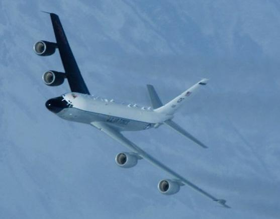 [포토] 미국 정찰기, 이번엔 동해 상공 비행