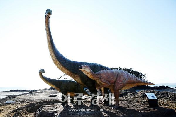 보령시, 천북 학성리에 공룡조형물 조성