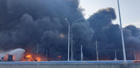 칠곡 공장 화재 9시간여 만에 진화… 겨울철 부주의로 화재 발생
