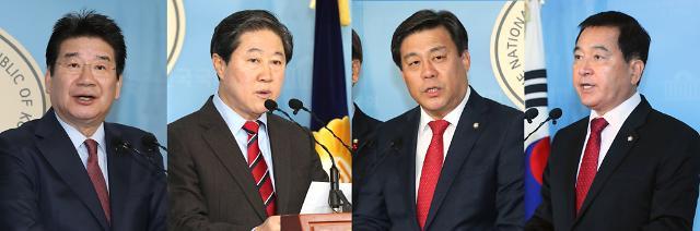 한국당, 9일 새 원내대표 선출 운명의 날…4파전 팽팽