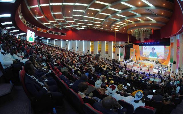 평화를 염원하는 아프리카대륙서밋과 20만명 효정가정축복축제 성료