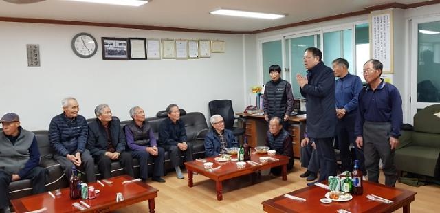 중부대 사회봉사단, 김장김치 기탁과 식사제공
