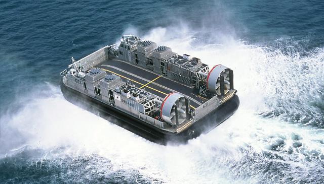 한진중공업, 3100억원 규모 해군 차기 고속상륙정 4척 수주