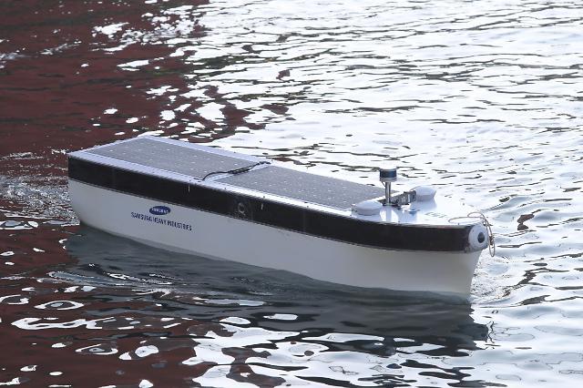 삼성중공업-SKT, 5G 기반 원격관제 모형선박 시험 운항 성공
