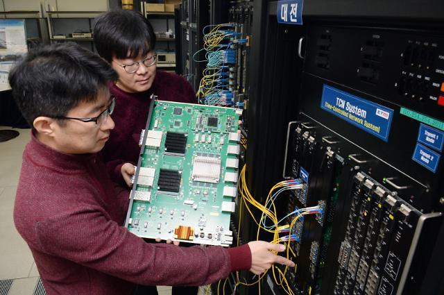 인터넷 예매로 접속자 몰려도 끄덕없다… ETRI, 초저지연·무손실 보장 통신 기술 개발