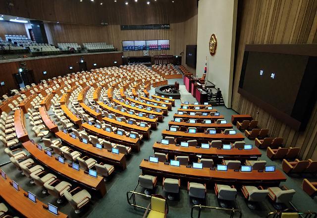 국회 본회의, 오후 8시 속개 예정…한국당 뺀 '4+1 협의체', 예산안 수정안 처리