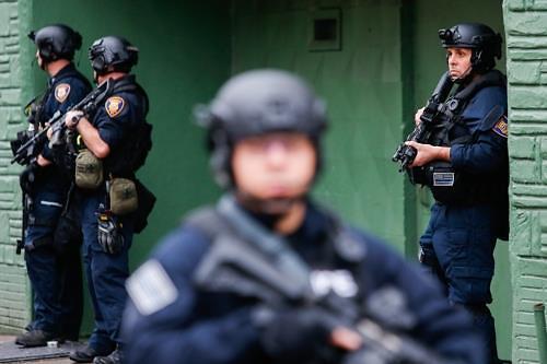 [글로벌포토]美뉴저지주서 총격 발생...경찰·용의자 포함 6명 사망