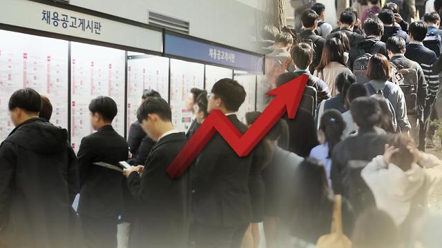 韩国11月就业人口同比增33.1万人