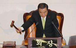 .韩国国会表决通过2020年度预算案.