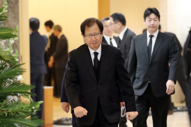 대우-금호의 각별한 인연…故 김우중 빈소 이튿날 첫 조문객은 박찬구 회장