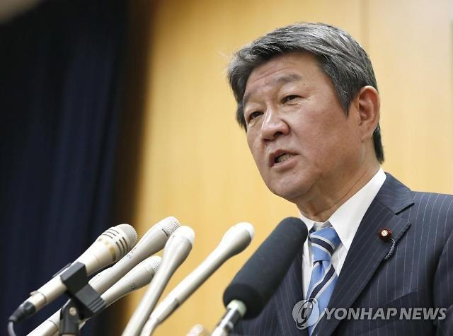 """""""日모테기 외무상, 강경화 장관과 회담 조율중""""-NHK"""